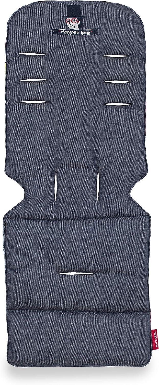 Reversible Se adapta a Maclarens y mayor/ía de las marcas Colchoneta universal de Maclaren: Accesorio para sillas de paseo que aporta estilo y comodidad Lavable a m/áquina