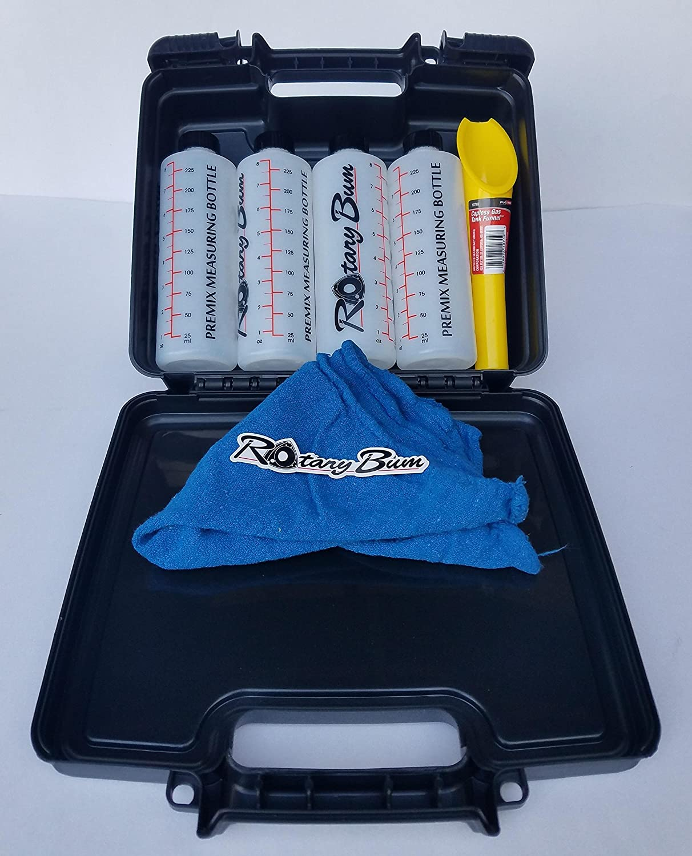 Rotary Bum VIP Premix Measuring Bottle Hard Case Kit