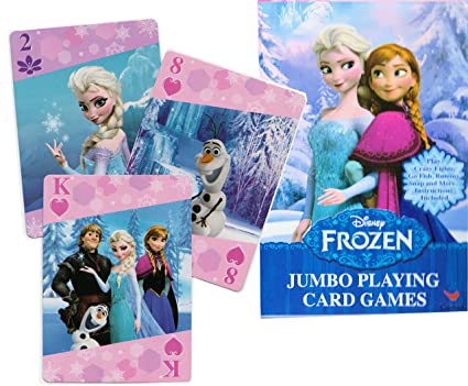 Disney Frozen Jumbo Movie Playing Cards - Elsa & Anna