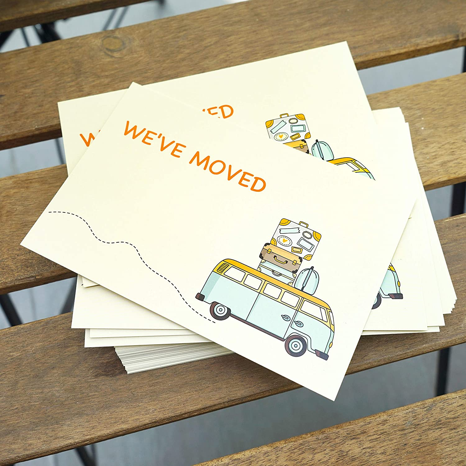 Moving Announcement Cards New Home Card 50 Weve moved postcards Address Update Announcement Change of Address Card