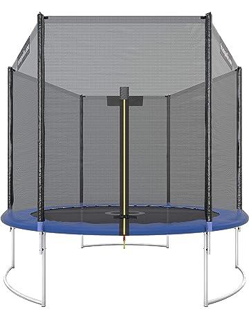 Ultrasport Cama elástica de jardín Infantil, Set Completo-Superficie de Salto, Seguridad,