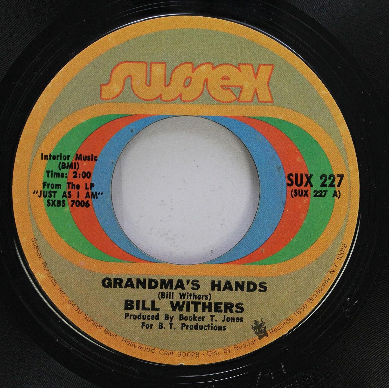 bill withers 45 RPM grandma''s hands / sweet wanomi - Amazon.com Music