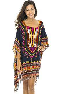 b4a293ac03bf6 Back From Bali Womens Short Swimsuit Beach Cover up African Caftan Patterns