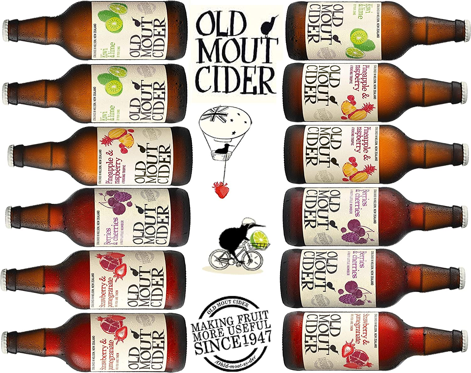 Old Mout Mixed Cider Case - 12 X 500ml