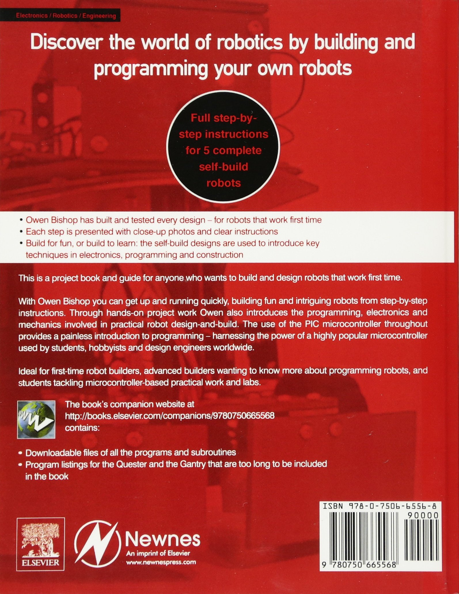 Robot Builder\u0027s Cookbook: Build and Design Your Own Robots: Amazon ...