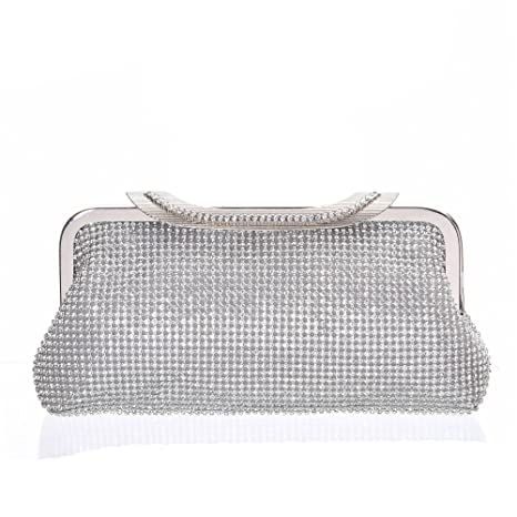 4d076f7d42 ... Crystal Wedding Purse Bridal Prom Handbag Cocktail Party Bag Shoulder  Handbag for Iphone 7 Plus by Minicastle Online at Low Prices in India -  Amazon.in