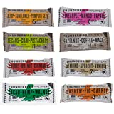 Thunderbird Bar Variety Mix Pack of 8 Unique Fruit Nut & Seed Energy Bars, 1.7 oz each, Gluten Soy Dairy Free and Non GMO