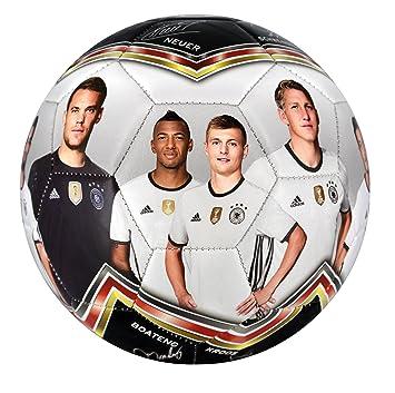 DFB Fussball Fotoball, weißschwarzrotgold, 5, 60022 2016