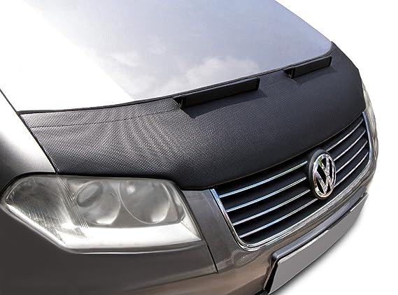 Campana sujetador sujetador para VW Passat 3BG carbono capó parte delantera para nariz máscara stoneguard pantalla Tuning: Amazon.es: Coche y moto