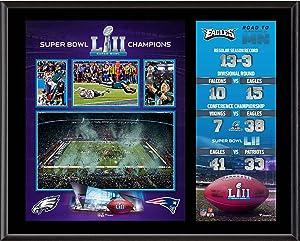 Philadelphia Eagles 12'' x 15'' Super Bowl LII Champions Sublimated Plaque - NFL Team Plaques and Collages