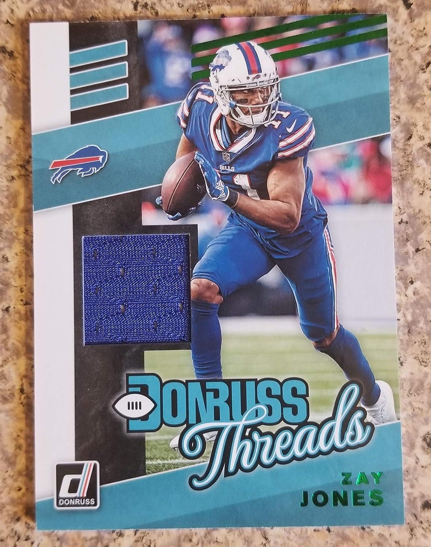 2019 Donruss Football Zay Jones Buffalo Bills Jersey Card Donruss ...