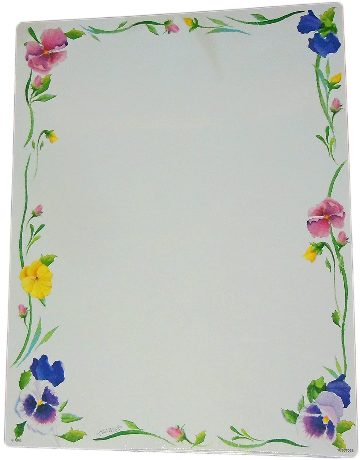 Papel reciclado Greetings- funda impresora Paper- flores ...