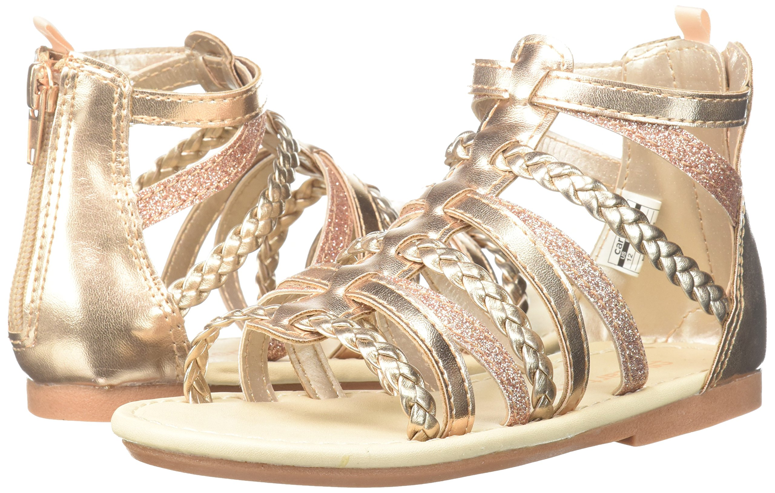 1cab4ea42bb Carter s Smile Girl s Gladiator Sandal