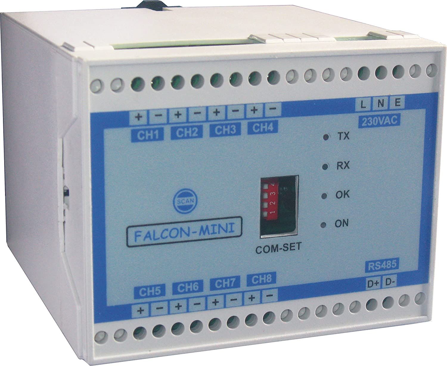 4-20 mA to RS485 Converter with 230V AC Supply: Amazon.in: Electronics