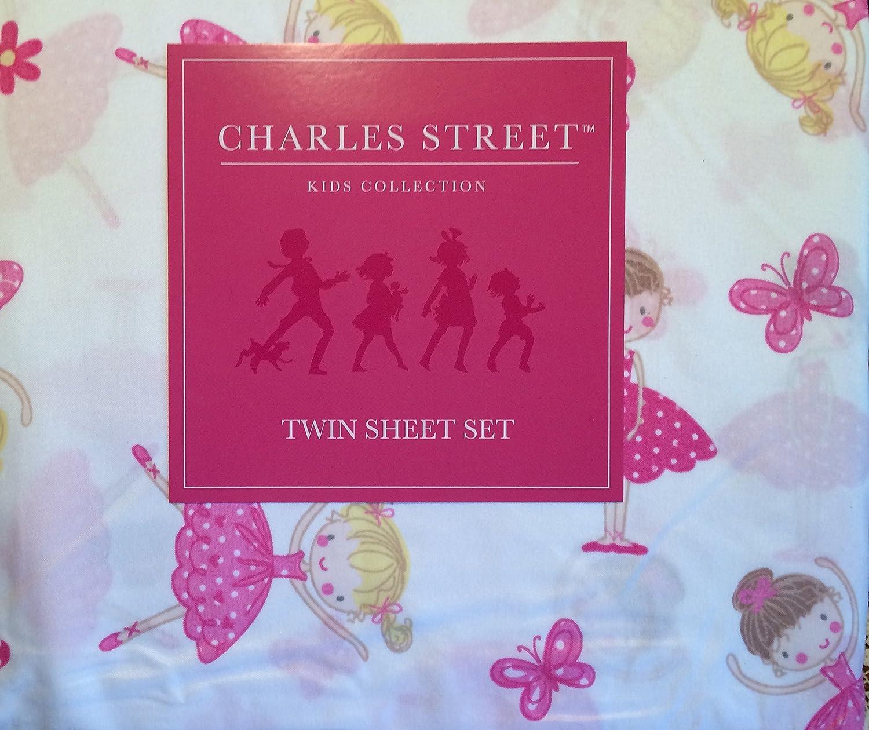 Charles Street Ballerina Twin Sheet Set