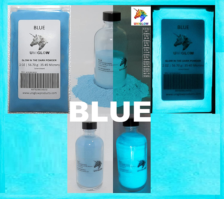 UniGlow 暗闇で輝く蛍光粉末染料  10g ブルー 687928337366 B06XQXKDN5 10g|ブルー ブルー 10g