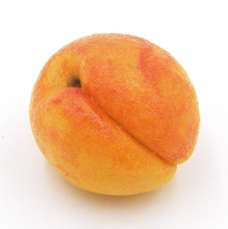 Peach Glass Marzipan Handmade Art
