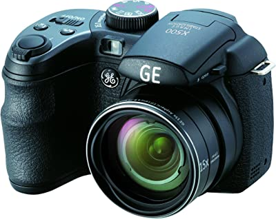 GE Power Pro X500-BK 16 MP with 15 x Optical Zoom