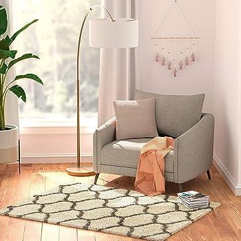 AmazonBasics Modern Plush Shag Carpet