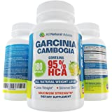 95% HCA Garcinia Cambogia Extract 180 Capsules All Natural Ingredients. NEW from All Natural Advice Garcinia Cambogia Slim XT with 95 hca pure weight loss extract and more potent than 80% or 85% hca