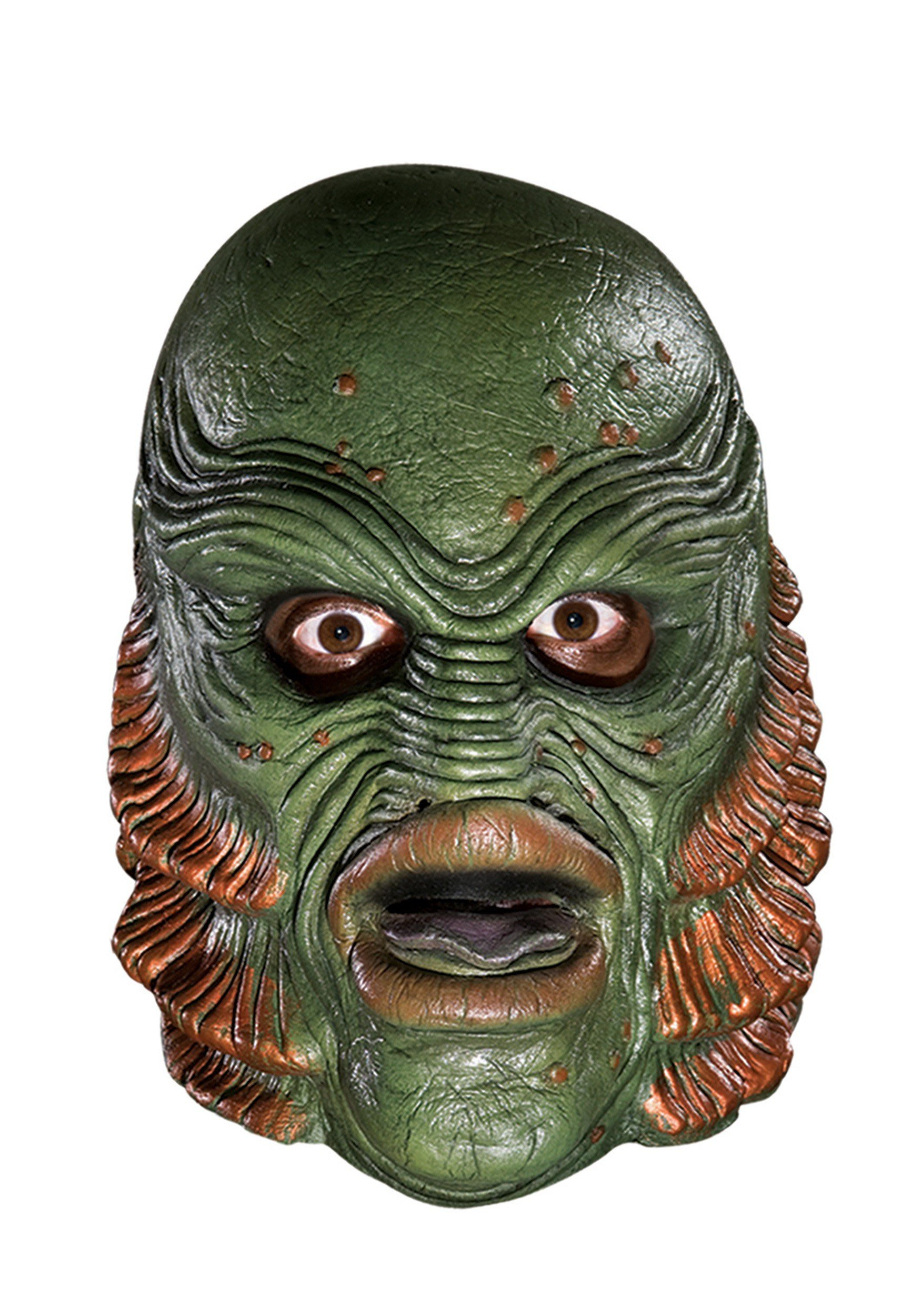 HalloweenMasks Deluxe The Creature from the Black Lagoon Mask Standard