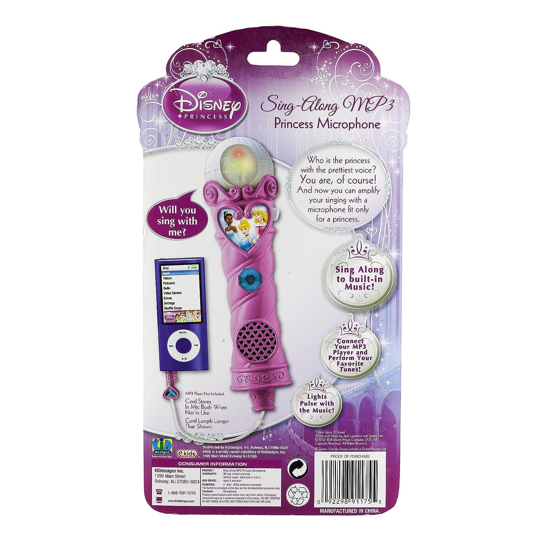 Disney Princess Sing-Along Mp3 Princess Microphone