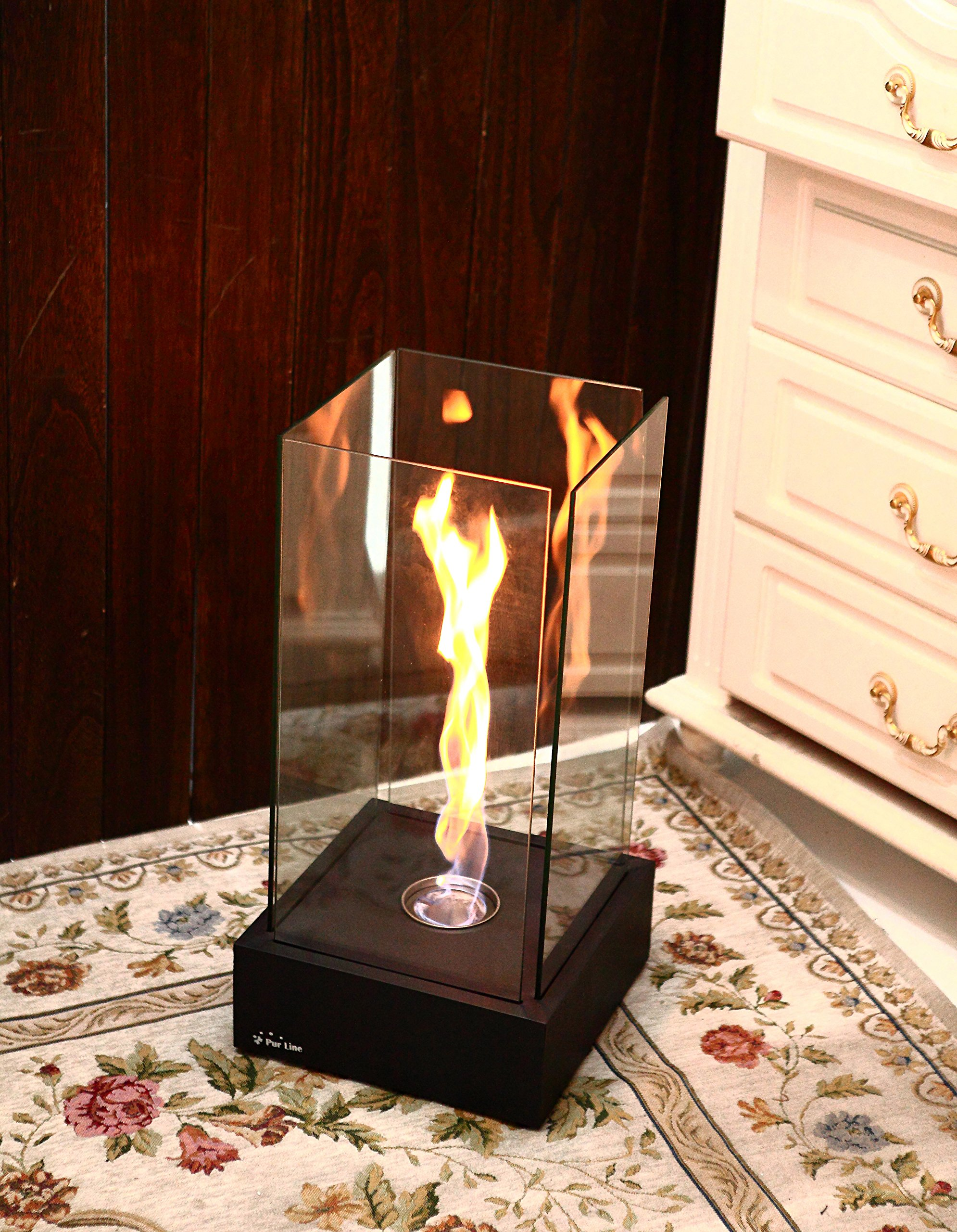 Fire Desire's Tornado Fireplace - Unique Dancing Twisting Flame, Both Indoor and Outdoor Use, Great for Decoration, Cozy Atmosphere, German Design, Can Put Anywhere, Table Top, Easy to Set Up