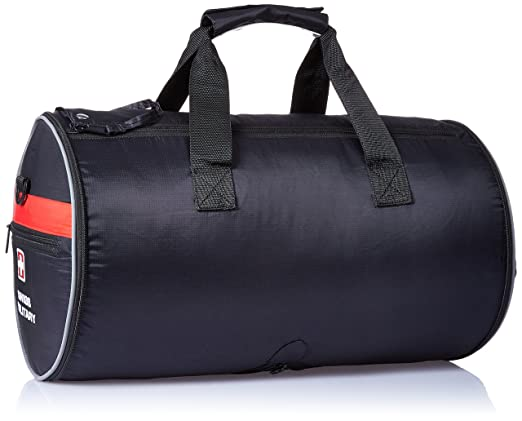 3a2a1e62bf Swiss Military 47cm Sports Bag Black (BP-5)  Amazon.in  Bags
