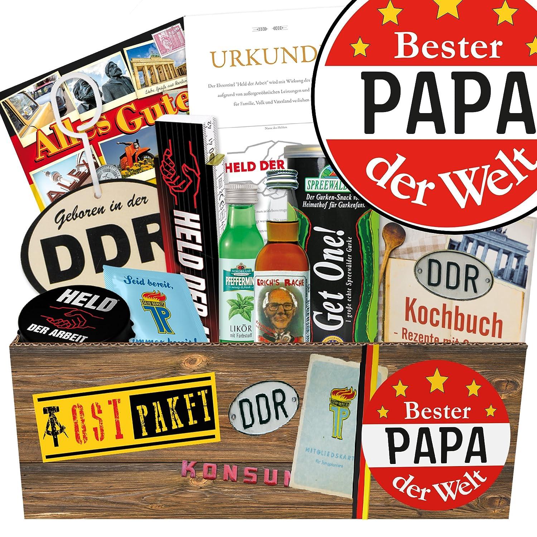 Ossi Geschenke BESTER Papa DER WELT - DDR Geschenke für Papa: Amazon ...