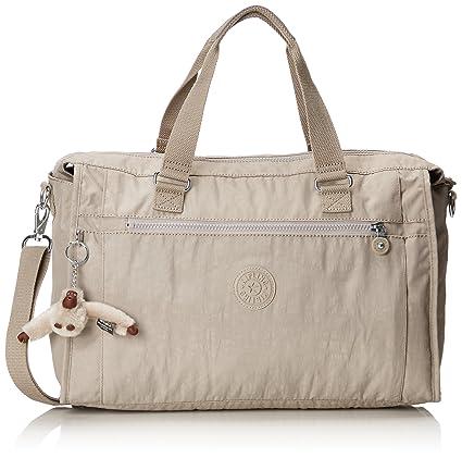 69721b535 Kipling Pauline Travel Tote, 40 cm, 20 L, Beige (Pastel Beige):  Amazon.co.uk: Luggage