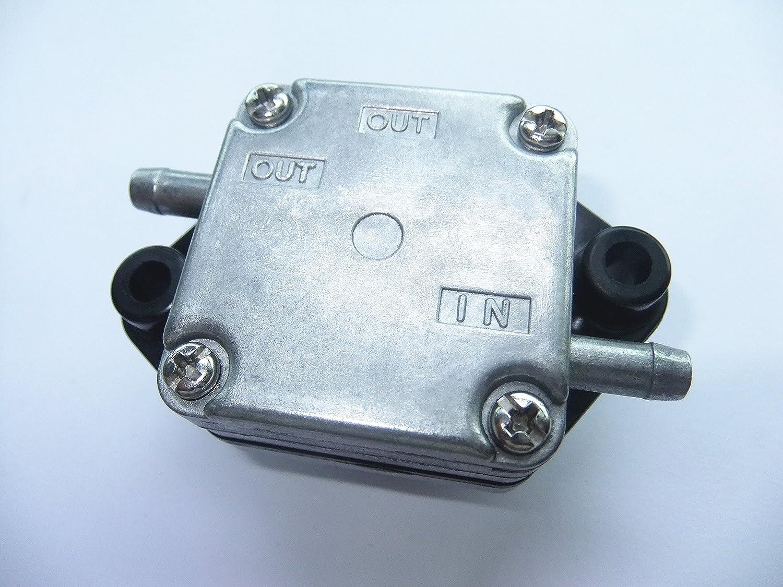 Motor de Barco Bomba de Combustible Assy 67D-24410-02-00 67D-24410-01-00 67D-24410-03-00 67D-24410-00 para Yamaha 4 Tiempo 4HP F4 F4A F4M Motor Fuera de Borda SouthMarine