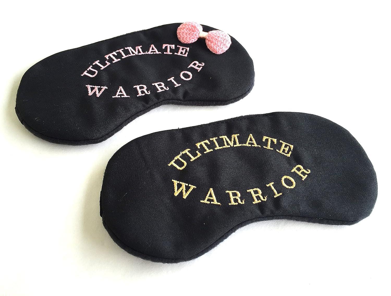 Amazon Com Ultimate Warrior Sleep Mask Sports His And Her Sleep Mask Set Great For Travel Shift Work Meditation Migraines Blindfold Sleep Satisfaction Guaranteed Sleeping Mask For Women Men Kids Handmade