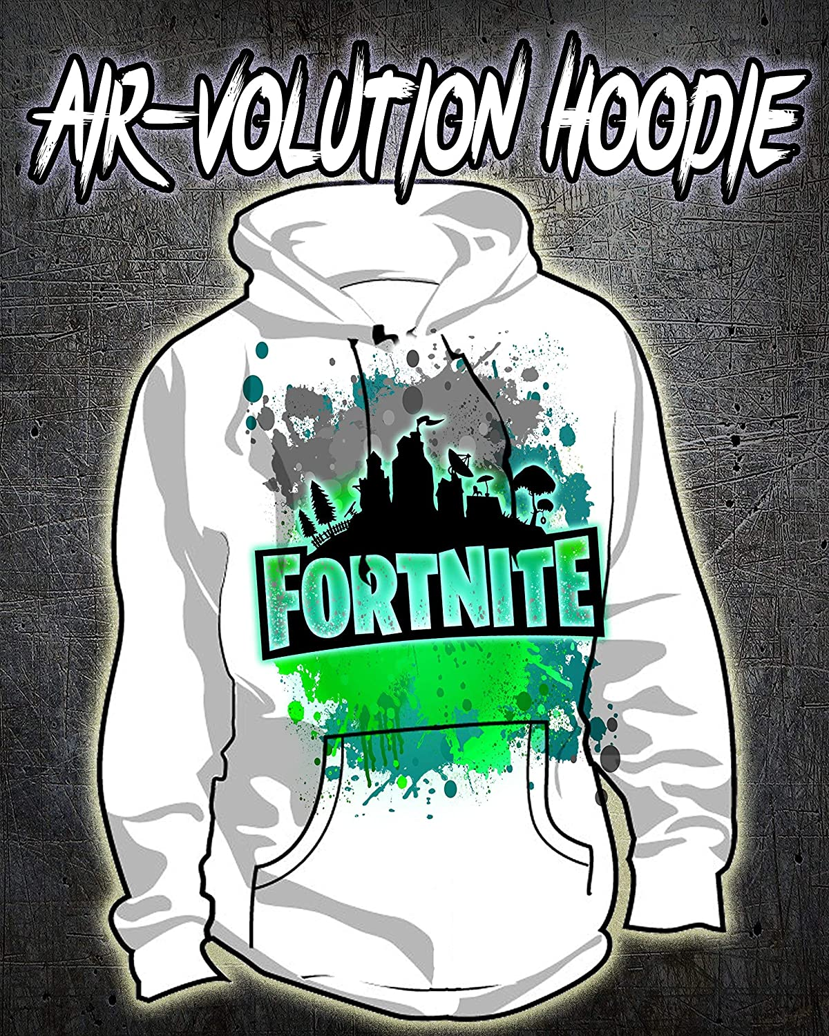 Personalized Airbrush Battle Royale Hoodie