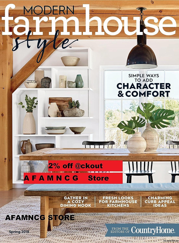 Amazon.com : Modern Farmhouse Style Magazine #3 - Spring 2018 ...