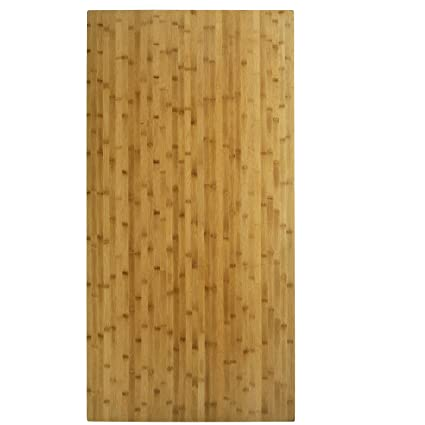 Boonliving Eco Friendly Natural Bamboo Tabletop, Parallel Pressure,  30u0026quot; X 60u0026quot;