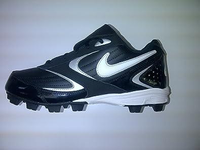 a9a2a7b45202 Amazon.com | Nike Keystone Low Men's Baseball Cleat (8, Black/White ...