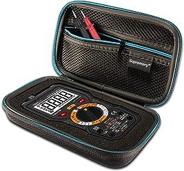 Supremery Tasche für Tacklife DM01M DM07 Advanced Digital Multimeter Case Schutz-Hülle Etui Tragetasche