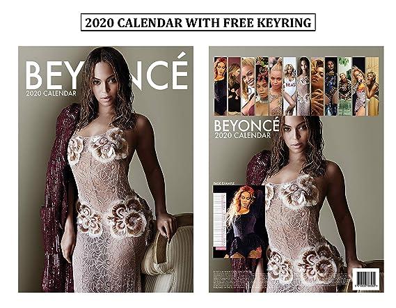 Beyonce 2020 Calendar Amazon.: Beyonce Calendar 2020 + Beyonce Keychain : Office