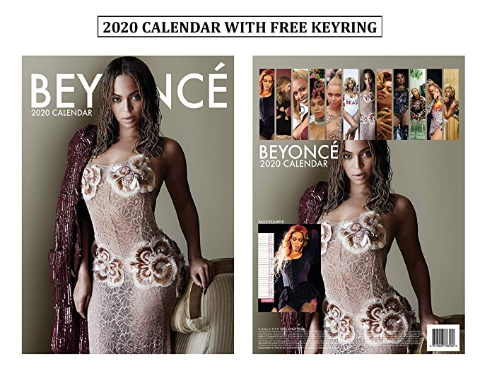 2020 Beyonce Calendar Amazon.: Beyonce Calendar 2020 + Beyonce Keychain : Office