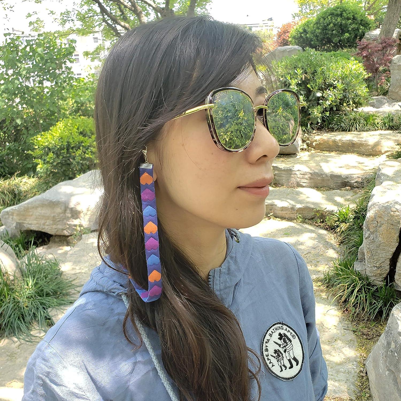 Bohemian Pattern Glasses strap For Women Glasses Chain Sunglasses Strap Womens Eyeglass Chainsp 2 pcs 27.5 inch