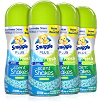 Deals on 4-Pack Snuggle Scent Shakes in-Wash Scent Booster Beads 9Oz