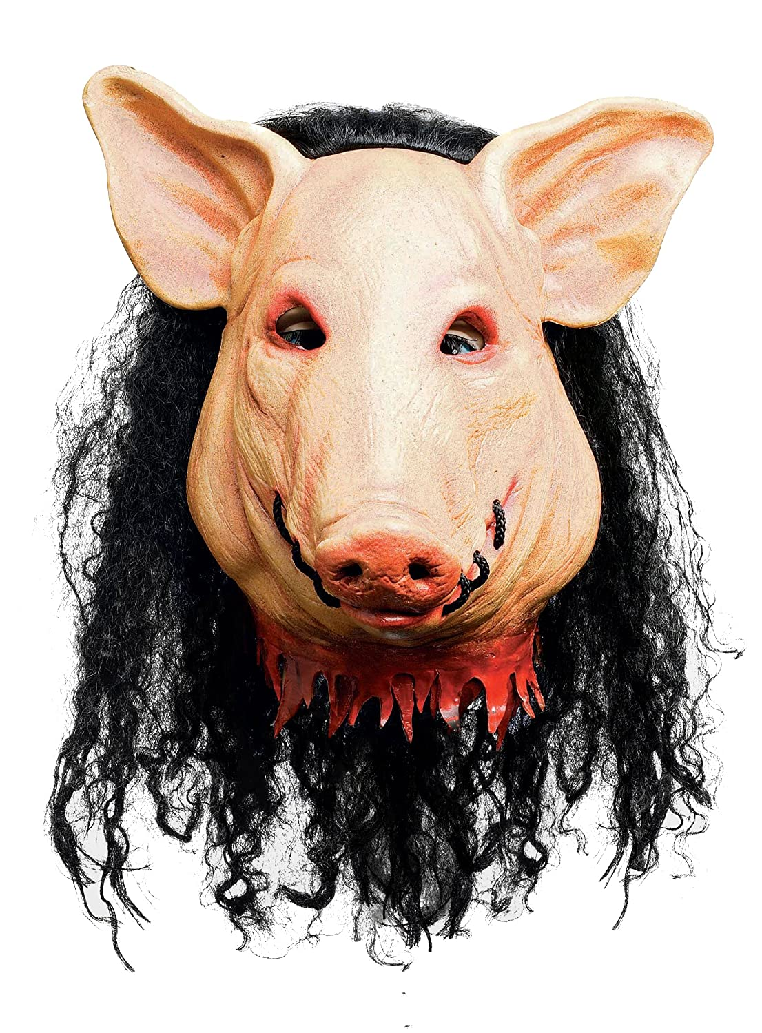 SAW - HORROR PIG MASK DELUXE (máscara/careta): Amazon.es: Juguetes y juegos