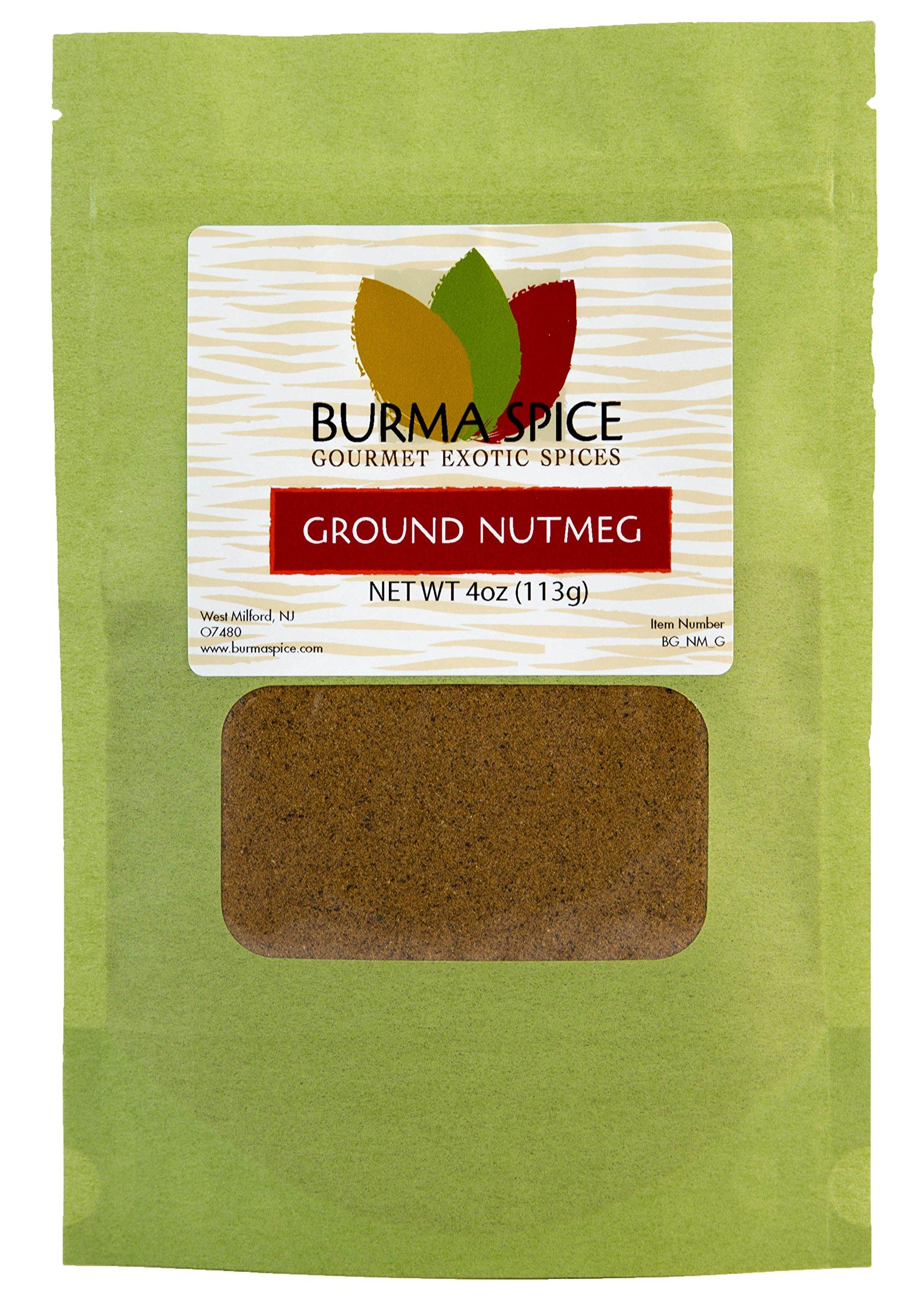 Ground Nutmeg : Pure Spice Blend Seasoning, No Additives, Holiday Spice : Kosher (4oz.)