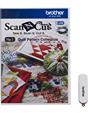 Brother SCAN-N-Cut CAUSB1 No 1–Create collection White
