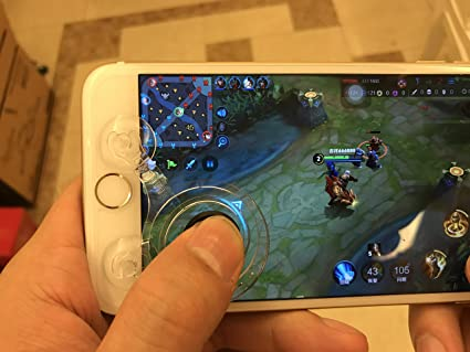 Amazon com: Mobile Joystick on Screen, Fling Mini Dual
