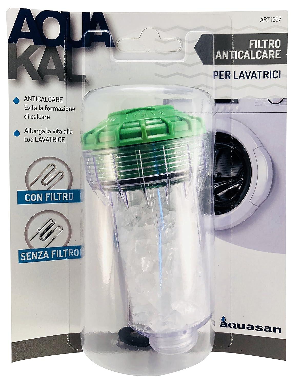 Aquasan 1257 Filtro antical para lavadoras, color blanco
