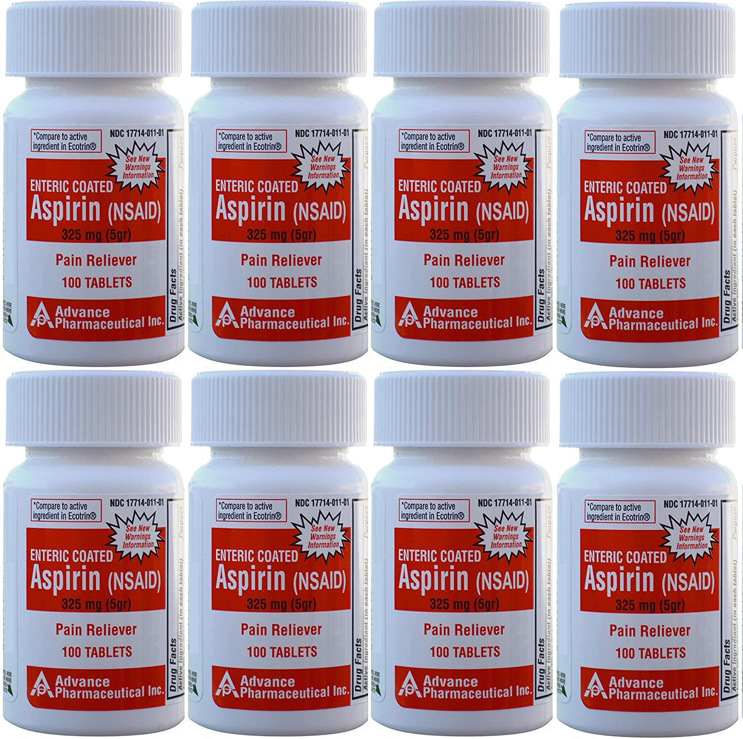 Aspirin Adult Regular Strenght Enteric Coated 325 Mg Generic For Ecotrin Bayer Aspirin 100