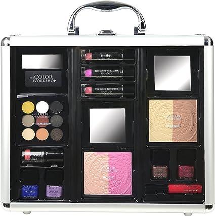 The Color Workshop Maletín de Maquillaje de Doble Cara - 1 pack ...