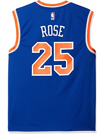 adidas NBA New York Knicks Derrick Rose  25 Men s Replica Jersey 266a8aa03