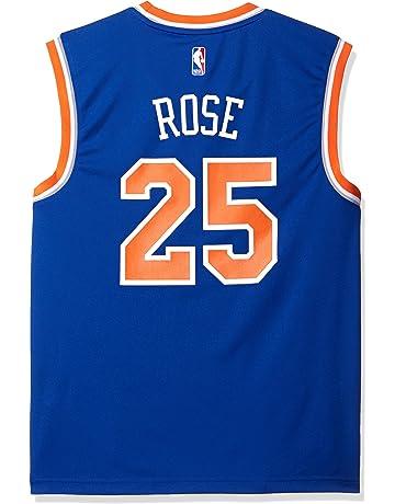 adidas NBA New York Knicks Derrick Rose  25 Men s Replica Jersey 74c06e312